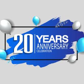 20 years celebration